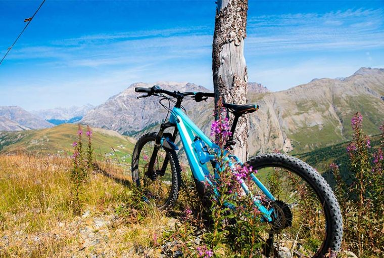 livigno in mountain bike